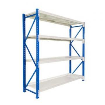 Powder Coated Steel Shelf Storage Rack / Commercial Metal Warehouse Equipment Storage Rack Shelf