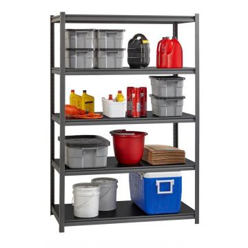 5Tier Garage Storage Metal keyhole Double rivet lock shelving