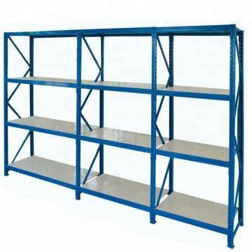Metal Rack with Wheels Fabric Roll Storage Rack Industrial Warehouse Storage