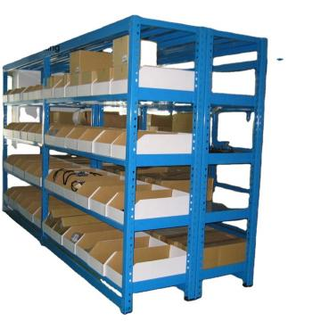 storage rack durable metal goods shelf for market