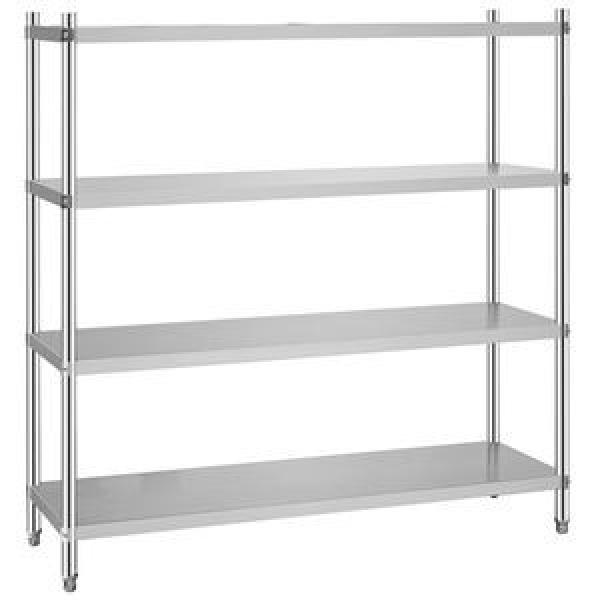 Wholesale Hoifat adjustable 6 shelf stainless steel metal display & storage shelving rack