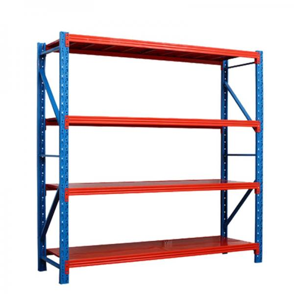 Heavy Duty Radio Shuttle Racking Metal Stackable Pallet Rack Commercial Shelves